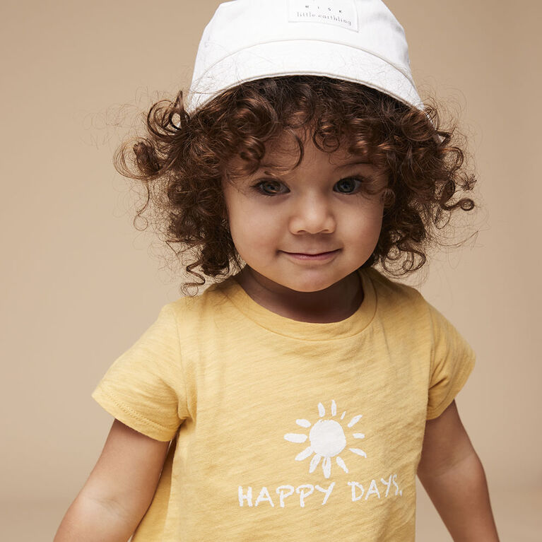 out of the box tee, 12-18m - rattan