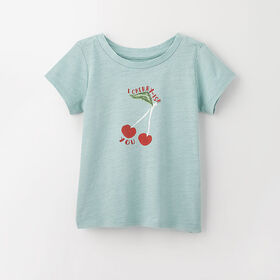 out of the box tee, 9-12m - cloud
