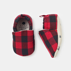 tiny steppers, size 6-12m - Red