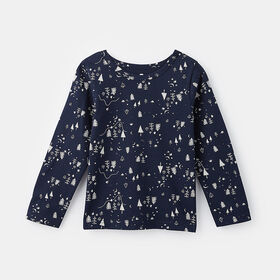 little styler long sleeve graphic tee, size 2-3y - Blue