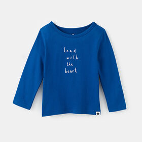 little styler long sleeve graphic tee, size 4-5y - Blue