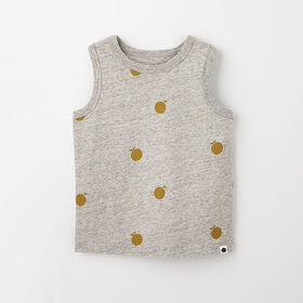 little styler graphic tank, 2-3y - grey mix