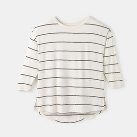 comfy drop sleeve tee, size S - White
