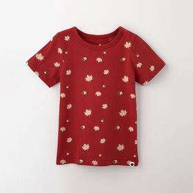 little styler graphic tee, 5-6y - red