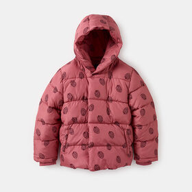 stay warm cropped puffer parka, size 3-4y - Pink