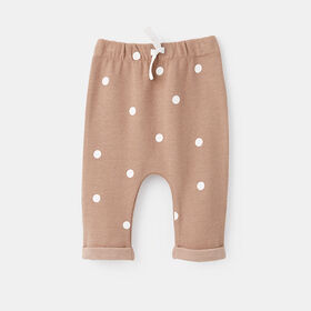 relaxed ribbed jogger, size 6-9m - Pink