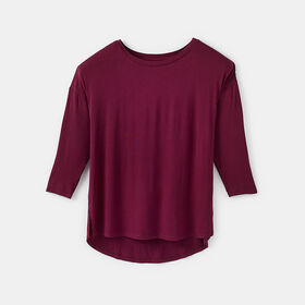 comfy drop sleeve tee, size XXL - Red