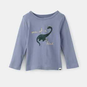 little styler long sleeve graphic tee, size 3-4y - Blue