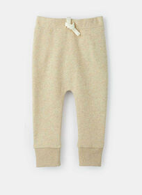 just chillin' fleece jogger , size 18-24m - Brown