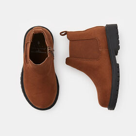 classic adventure chelsea boot , size 10 - Brown