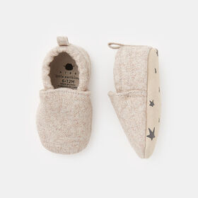 tiny steppers, size 6-12m - Brown